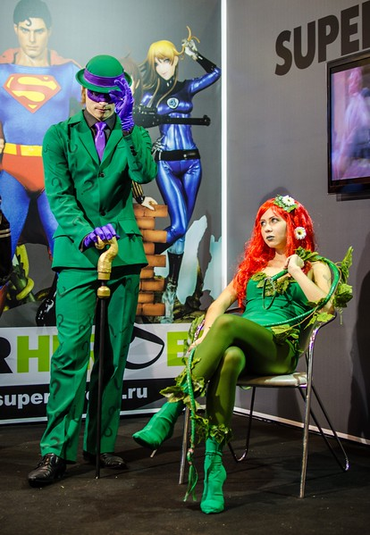 E.Nigma and Poison Ivy at Igromir 2012