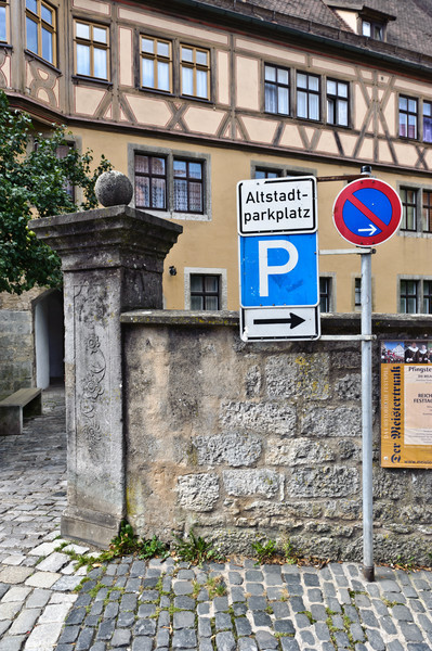 On streets of Rothenburg