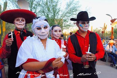2012-11-03 & 04 Dia de los Muertos at the Desert Botannical Garden