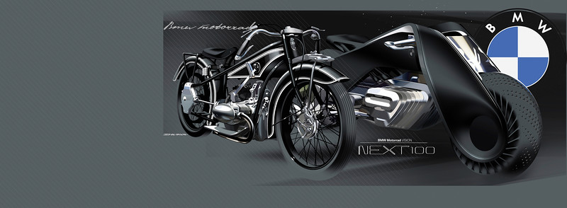 BMW Motorrad Vision the 100 Years