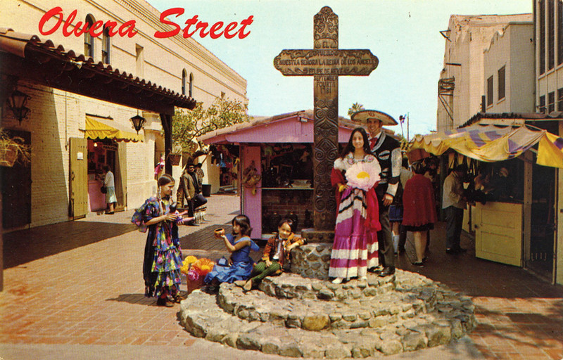 Olvera Street Wood Cross