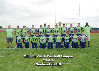 Ottawa Youth Football and Cheer 2019