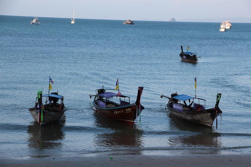 Boats docking