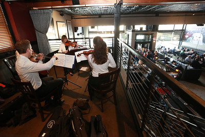 The Belin String Quartet at Americana  - 3/31/2014