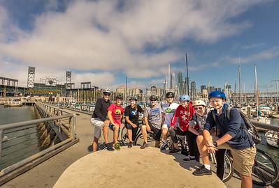 San Francisco - Biking Summer 2017
