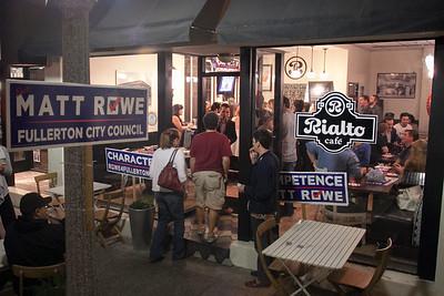 Matt Rowe June Election Night