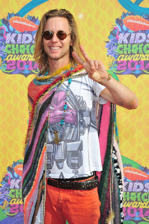 . Actor Greg Cipes attends Nickelodeon\'s 27th Annual Kids\' Choice Awards held at USC Galen Center on March 29, 2014 in Los Angeles, California.  (Photo by Frazer Harrison/Getty Images)