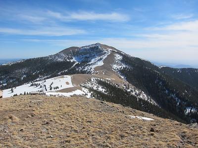 Lookout Peak- White Mountains  3.5.12