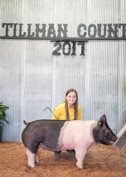 Tillman County Junior Livestock Show 2017