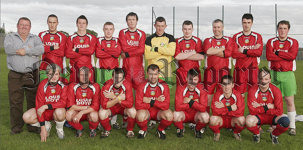 The Cartwheel United team who played Newry City