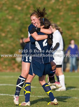 11/20/2010 - Nobles Girls Varsity Soccer vs Loomis Chaffe