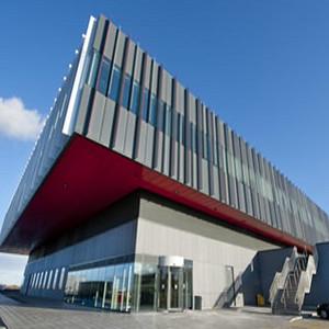 Concrete Skin - Scotland SCRM Building