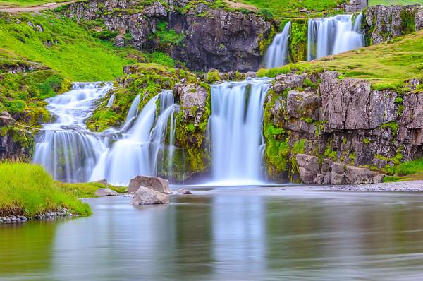 Waterfall Kirkjufellsfoss