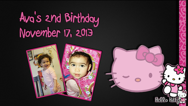 11.17.2013 Ava's Second Birthday