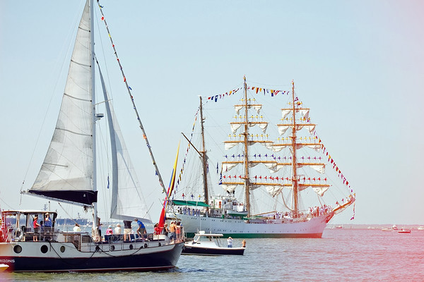 2012 OpSail - Parade of Sails