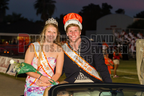 Homecoming Court - 2015