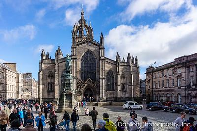 Edinburgh, Scotland - October 2017