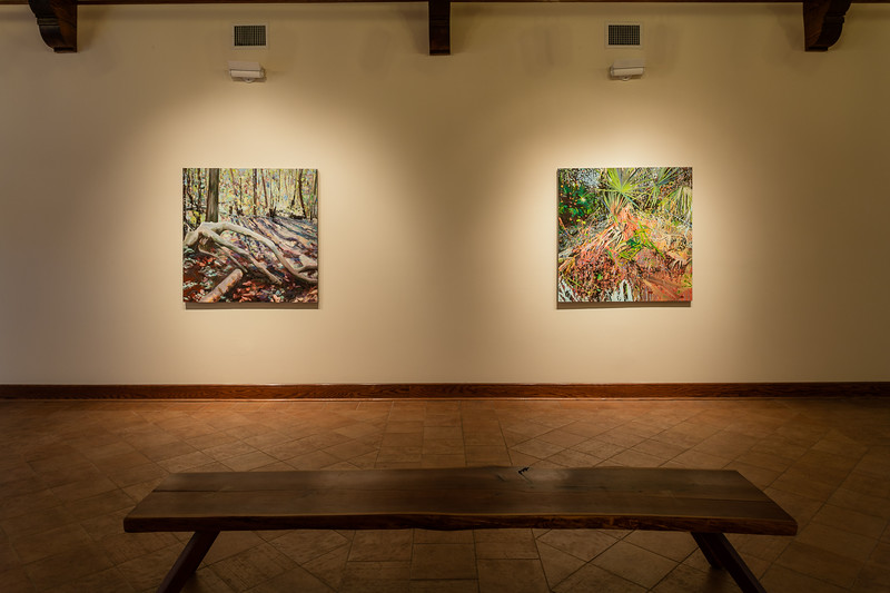 Shannon Estlund, Between Here and There, Installation View.