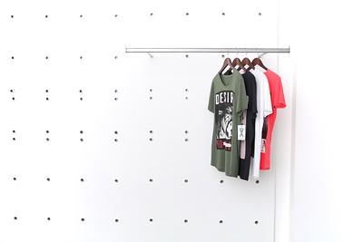 Styled Garments on Racks