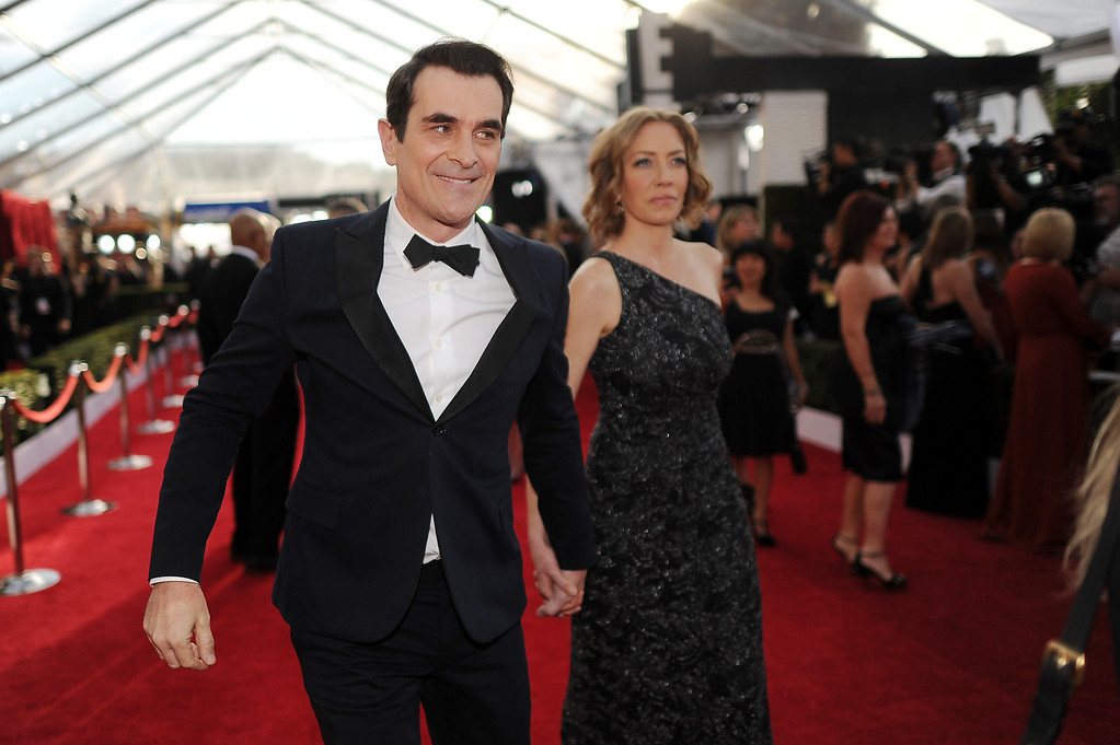 . Ty Burrell on the red carpet at the 20th Annual Screen Actors Guild Awards  at the Shrine Auditorium in Los Angeles, California on Saturday January 18, 2014 (Photo by Hans Gutknecht / Los Angeles Daily News)