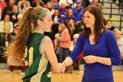 Lady Wamps vs Bishop Feehan Tournament 2014