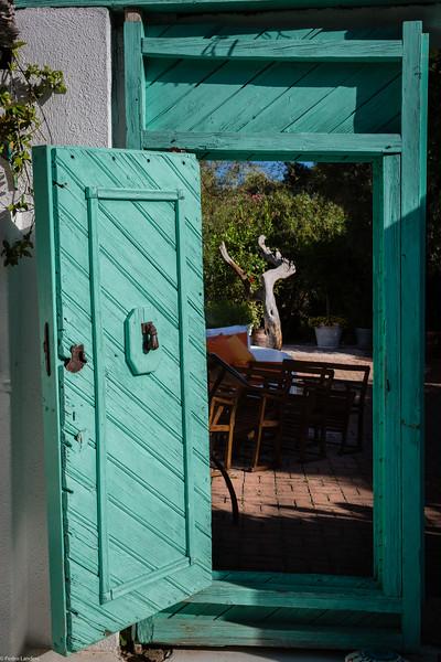 The Turquoise Door