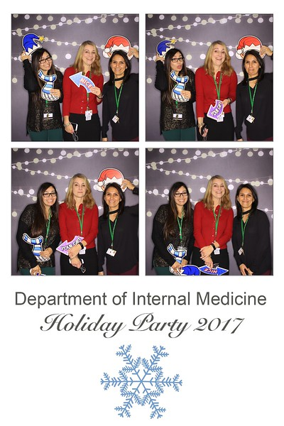 """Rush University Medical Center """"Department of Internal Medicine Holiday Party 2017"""""""