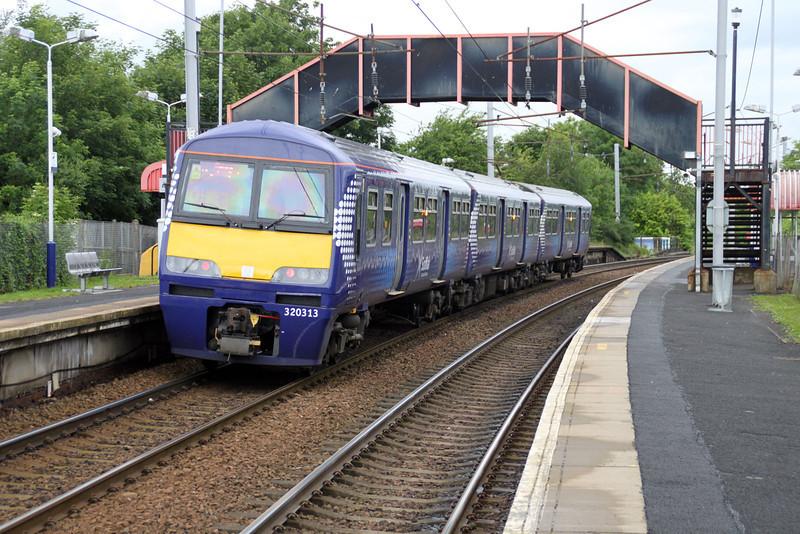 320313 departs Bellshill  04/07/12
