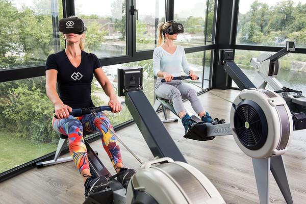 Holofit VR Rowing