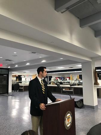 2018 Student Council Banquet