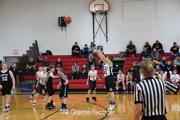 MS Boys Basketball vs Janesville