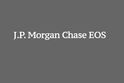 J.P. Morgan Chase EOS