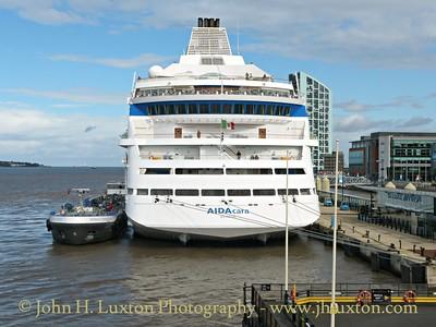 AIDAcara on Merseyside - August 29, 2015