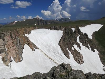 Skiing Skyscraper Glacier 7/2017