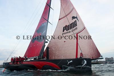 PUMA Finishing Volvo Ocean Race