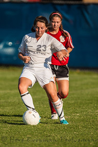 2012 PHS JV Girls Soccer vs Madison