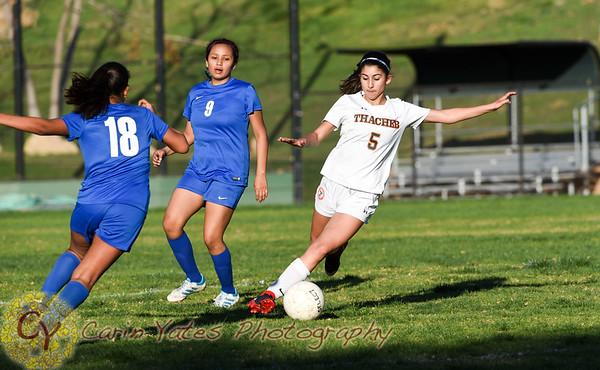 2-5-18 Girls JV Soccer VS Fillmore