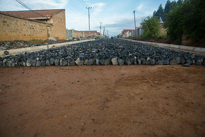 Road Building at Konandoga (Small Corner), Eldoret, Kenya