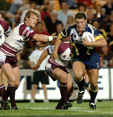North Queensland Cowboys 2004 Match Photos