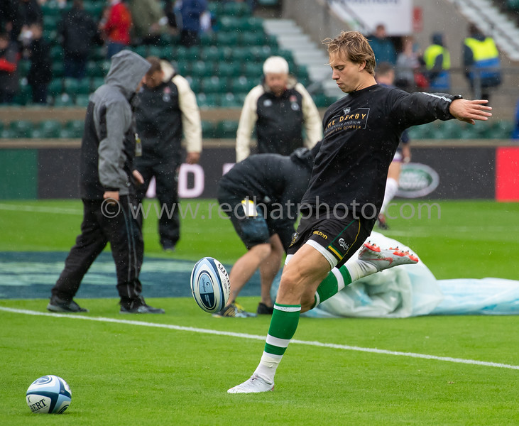 Northampton Saints vs Leicester Tigers, Gallagher Premiership, Twickenham Stadium, 6 October 2018