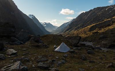 Karangarua-Troyte-Fettes Peak-Makawhio, 7-13 November 2020