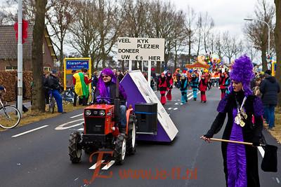 Carnaval 2012 De Neutenkrakers optocht en prijsuitreiking