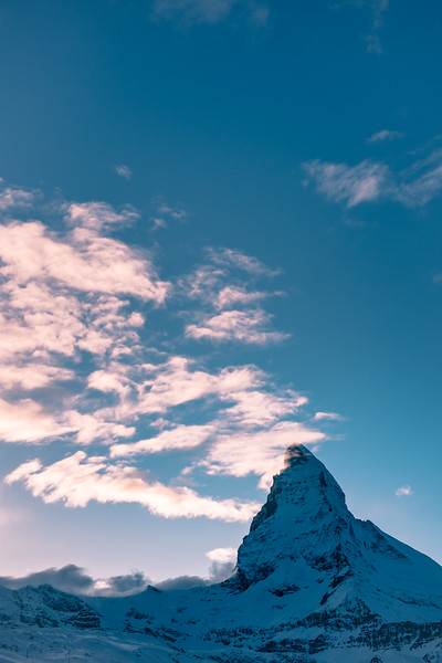 The Matterhorn at sunset
