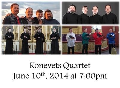 Konevets Quartet Concert