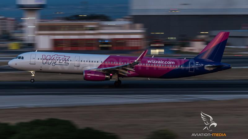 Wizz / Airbus A321-231(WL) / HA-LTA