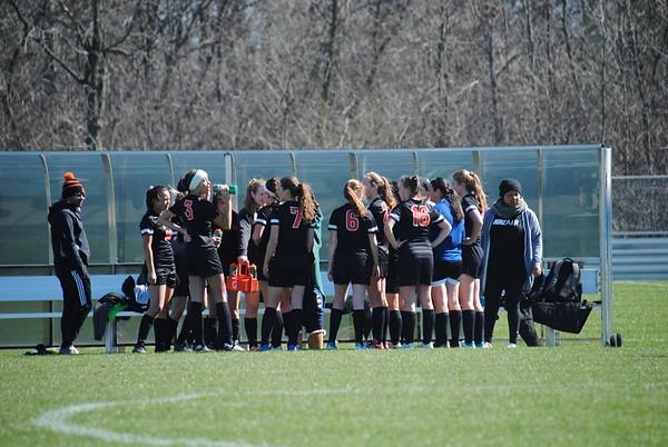 LFA Girls Varsity Soccer vs Woodlands Academy