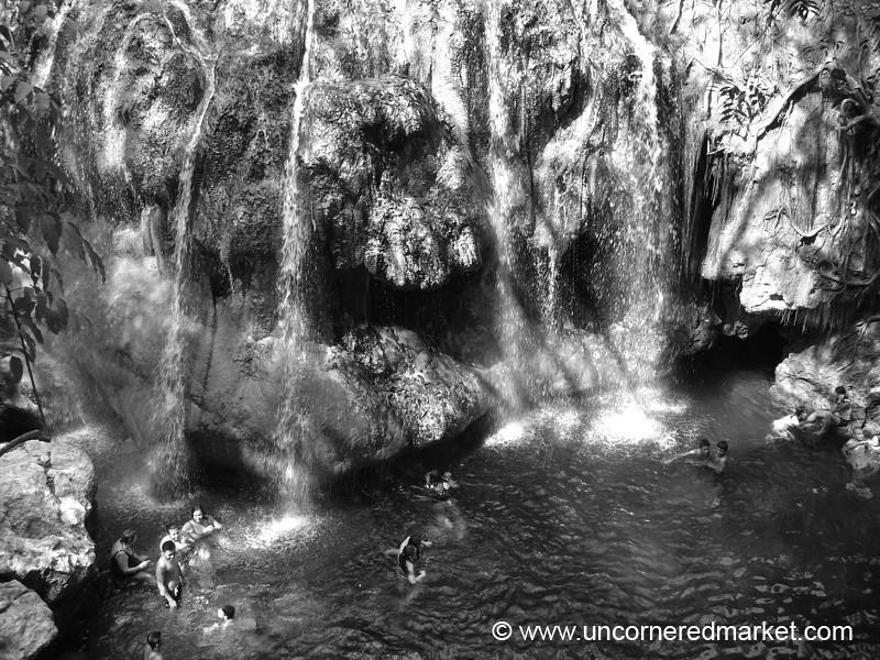 Finca El Paraiso Waterfalls - Rio Dulce, Guatemala