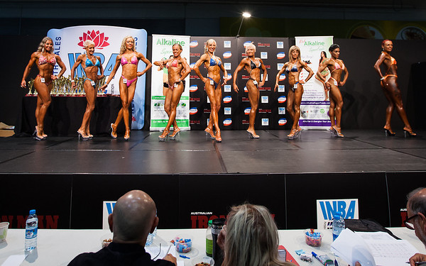 Cath Glasson Body Building Comp