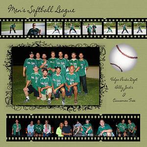 2009-05-21 Billy Jack's Men Softball Team