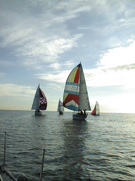 A HISC Winter Series race in 1997